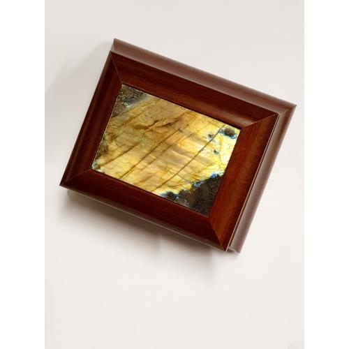 Scatolina Labradorite gialla