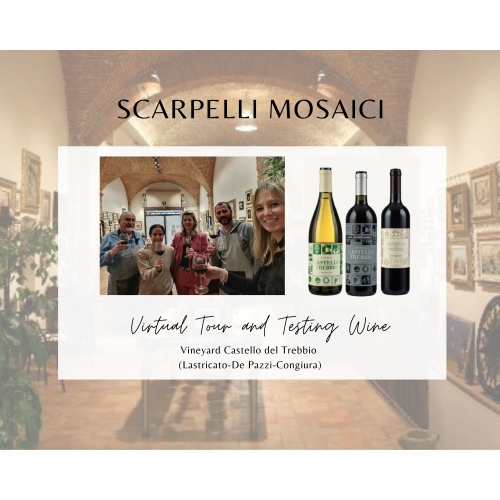 Virtual Tour with 3 bottles of wine